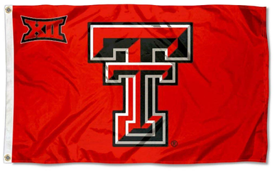 Texas Tech Red Raiders Big 12 Banner Flag 3ft*5ft