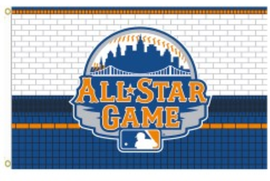 New York Mets All Star Game Banner flag 3x5ft