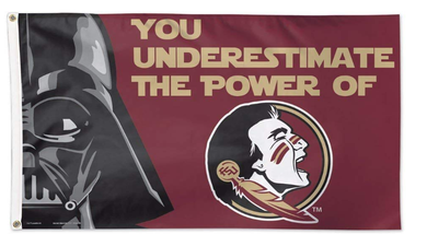 Florida State Seminoles Star Wars Banner Flag 3ft*5ft