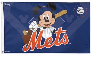 New York Mets Disney Banner flag 3x5ft