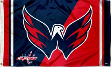 Washington Capitals Bald Eagle Flag 3x5 ft