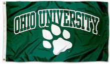 Load image into Gallery viewer, Ohio Bobcats Banner University Flag 3x5FT