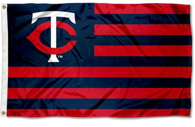 Minnesota Twins Americana Nation Banner flag 3ftx5ft