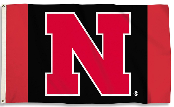 Nebraska Cornhuskers Football Flag 90*150 CM