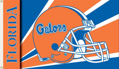 Florida Gators Logo Helmet Banner Flag 3x5ft