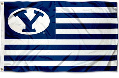 Brigham Young Cougars Stars and Stripes Nation Flag 3*5ft