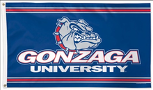 Load image into Gallery viewer, Gonzaga Bulldogs University DeluxeFlag 3x5ft