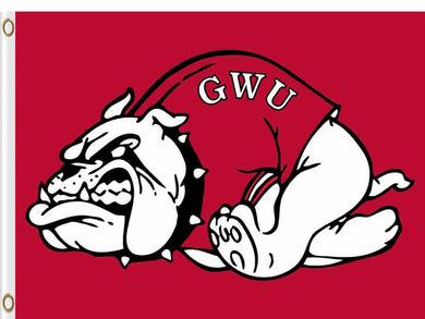 Gardner Webb Runnin' Bulldogs Flag 3ft*5ft