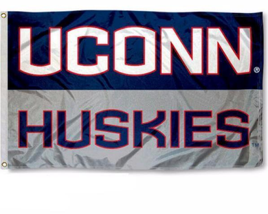 University of Connecticut Huskies Flag 3*5ft