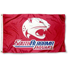 Load image into Gallery viewer, South Alabama Jaguars Printing team Flag