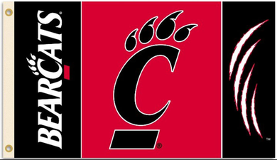 Cincinnati Bearcats Banner Flag 3*5ft