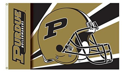 Purdue Boilermakers Team Helmet Banner Flag 3*5ft