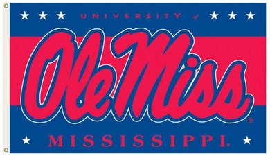 Mississippi Rebels University Flag 90*150 CM