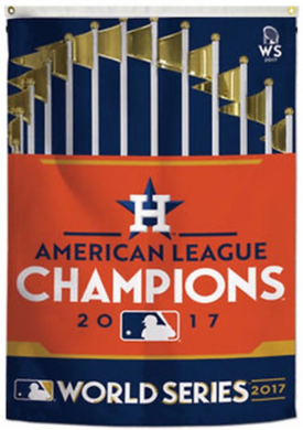 Houston Astros Champions World Series X 2017 Team Flag 3x5ft