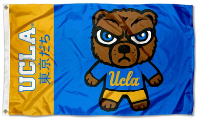 UCLA Bruins Kawaii Tokyodachi MascotFlag 3*5ft