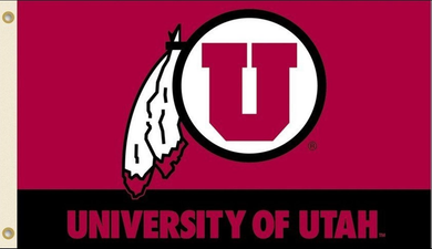 University of Utah Utes Banner flag 3x5ft