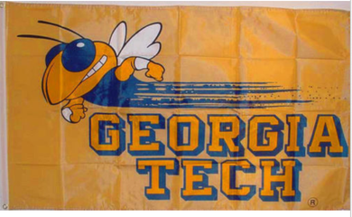 Georgia Tech Yellow Jackets Sports Banner Flags 3*5ft