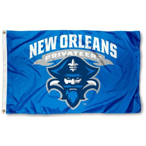 New Orleans Privateers Flag 3ftx5ft