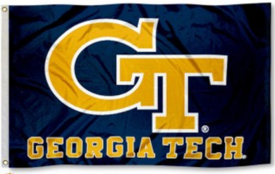 Georgia Tech Yellow Jackets Banner Flags 3*5ft