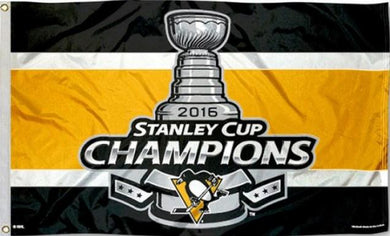 Pittsburgh Penguins Stanley Cup Flag 3x5 ft