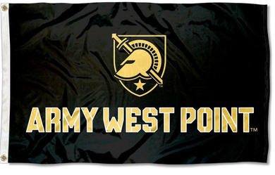Army Black Knights Athena Shield Banner Flag 3*5ft
