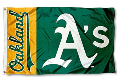 Oakland Athletics Banner flag 3ftx5ft