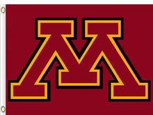 Load image into Gallery viewer, Minnesota Golden Gophers flag 3x5FT