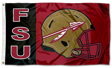 Florida State Seminoles  Football Helmet Banner Flag 3ft*5ft