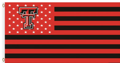 Texas Tech Red Raiders Star and Stripe Nation Flag 3ft*5ft