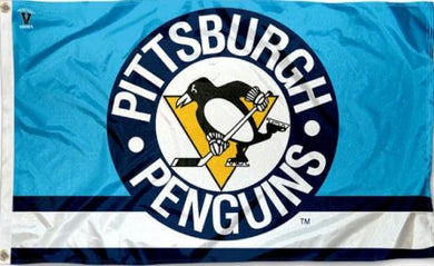Pittsburgh Penguins Vintage Logo Flag 3x5 ft