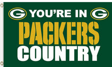 Load image into Gallery viewer, Green Bay Packers In Country Flag 3X5F
