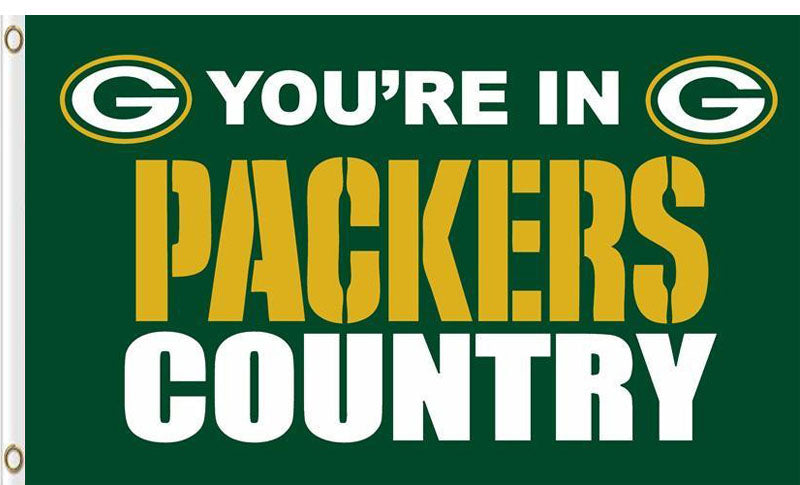 Green Bay Packers In Country Flag 3X5F