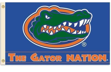 Florida Gators The Gator Nation Sports Banner Flag 3*5ft