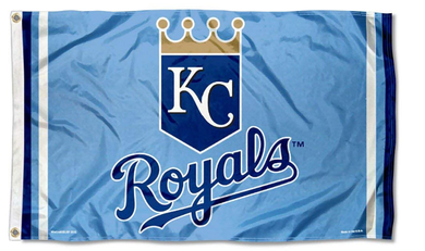Kansas City Royals Powder Blue flags 3ftx5ft