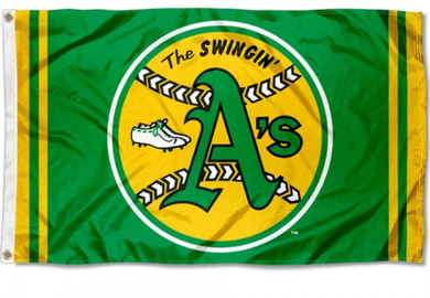 Oakland Athletics Retro Vintage Banner flag 3ftx5ft