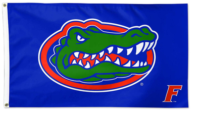 Florida Gators F Blue Banner Flag 3*5ft
