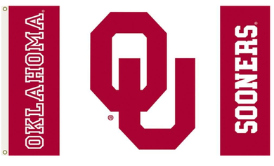 Oklahoma Sooners Logo Sports Flags 3*5ft