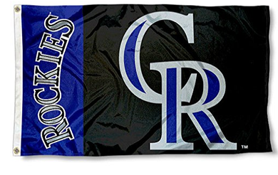 Colorado Rockies Banner flags 3ftx5ft