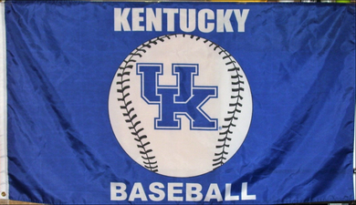 Kentucky Wildcats Baseball Banner Flag 3*5ft