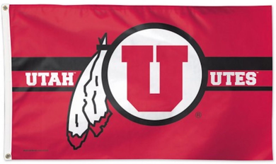 University of Utah Utes Deluxe Banner flag 3x5ft