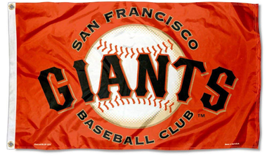 San Francisco Giants Baseball Club Banner flags 90x150cm