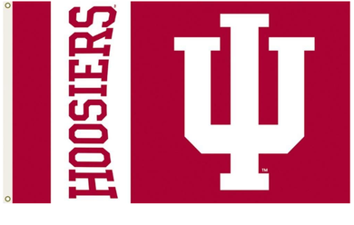Indiana Hoosiers University Banner Flag 3*5ft