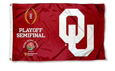 Oklahoma Sooners 2017 College Football Playoff Semifinal Banner Flags 3*5ft