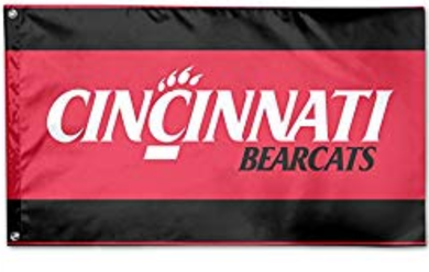Cincinnati Bearcats Polyester Banner Flag 3*5ft
