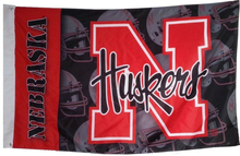 Load image into Gallery viewer, University of Nebraska Cornhuskers Flag 90*150 CM