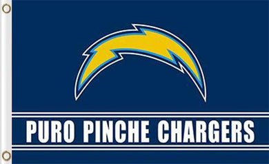 San Diego Chargers Puro Pinche Flag 3ftx5ft