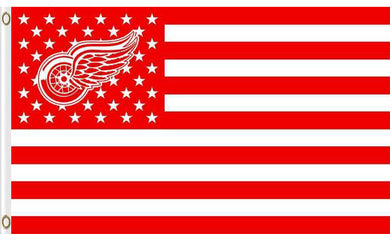 Detroit Red Wings flags 90x150cm