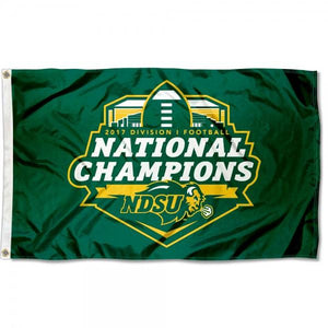 North Dakota State Bison Flag 3ftx5ft