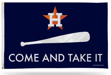 Houston Astros Come And Take It Banner Team Flag 3x5ft
