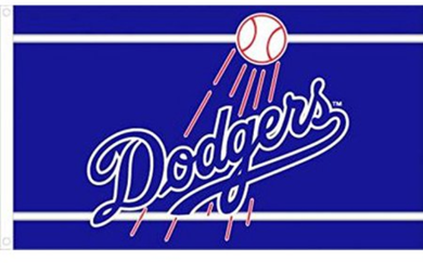 Los Angeles Dodgers Banner flag 3ftx5ft